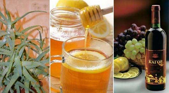 как пить алоэ с медом разборку груза